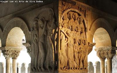 Resultado de imagen de claustro románico  santo domingo silos