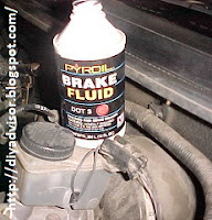 Use Pyroil Brake Fluid DOT 3