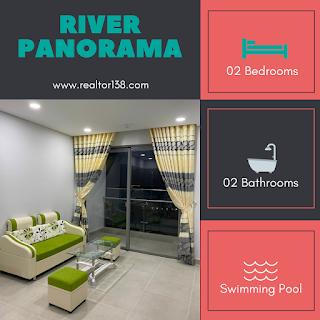 cho thuê 2 phòng ngủ river panorama q7