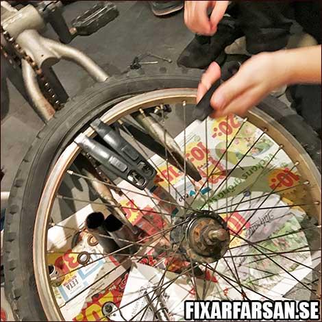 Byta-Slang-BMX-Bakdäck