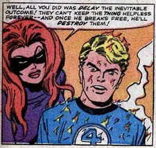 Fantastic Four 43-Frightful Four-Medusa