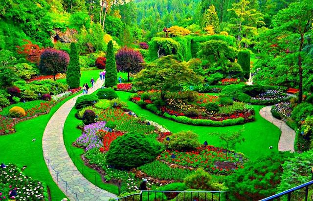 Butchart Gardens em Victoria