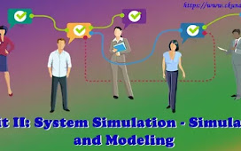 Unit II: System Simulation - Simulation and Modeling