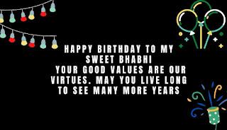 latest birthday wishes for bhabhi