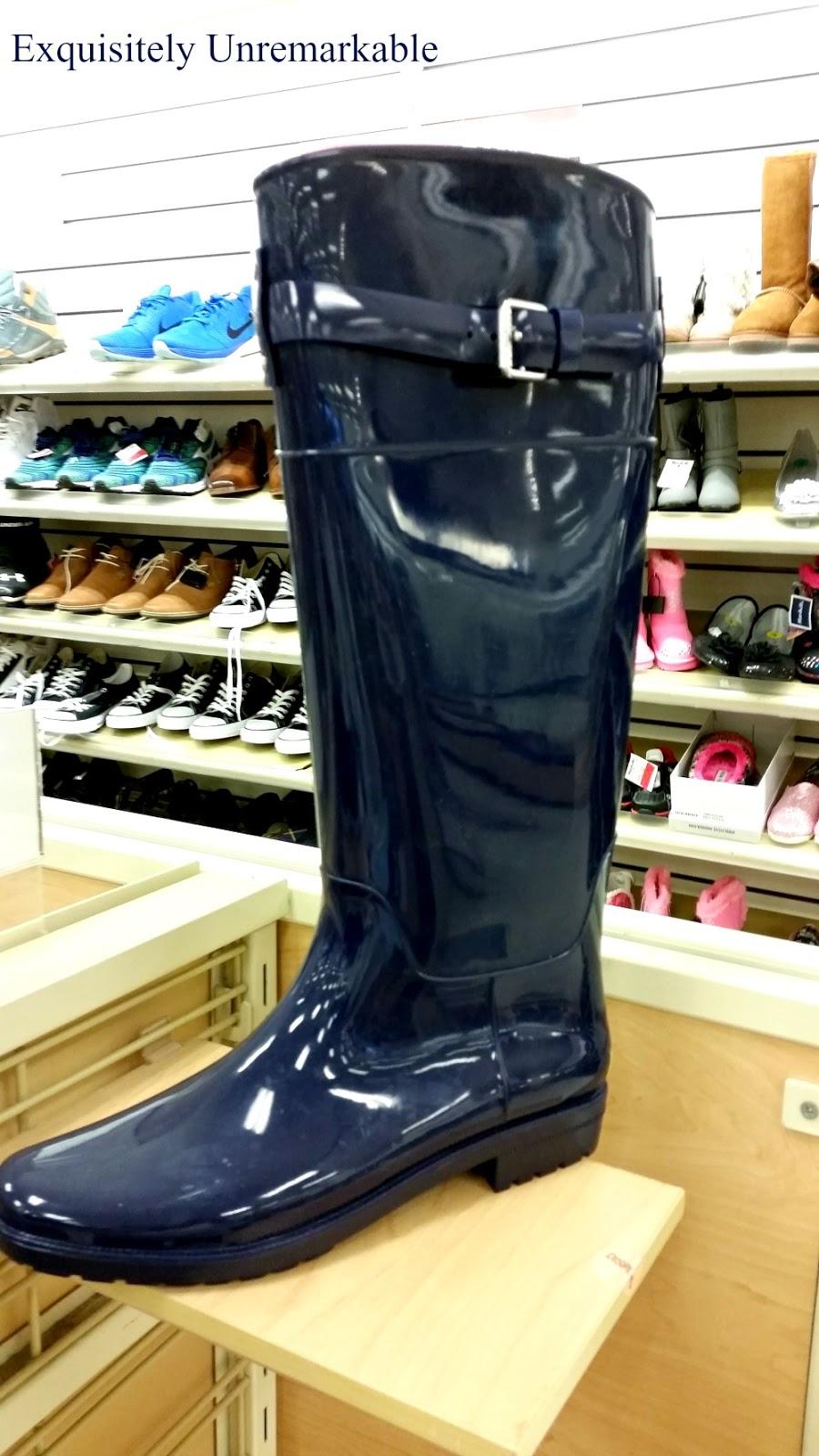 Rubber Rain Boot Decor |Exquisitely Unremarkable