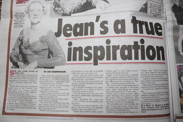 Jean Morton in the Sunday Mercury