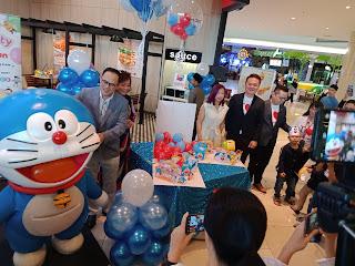 Marrybrown Lancar Pakej Sambutan Hari Jadi Bersama Doraemon, birthday party package, kartun Jepun, Hari kanak-kanak, hadiah Hari Jadi, rumah kebajikan lembah Klang,