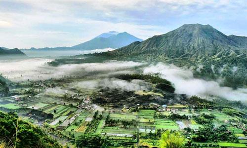 Pesona Desa Pinggan Kintamani Yang Menakjubkan