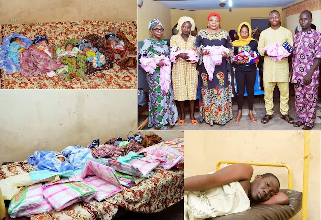 Farmer's Wife in Ogbomoso Delivers Quintuplets After Having Five Children