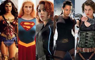 karakter wanita heroik dalam film