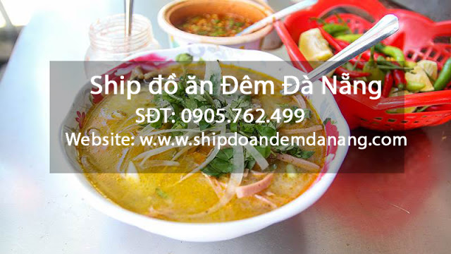 Chao bo gan - Ship do an dem Da Nang