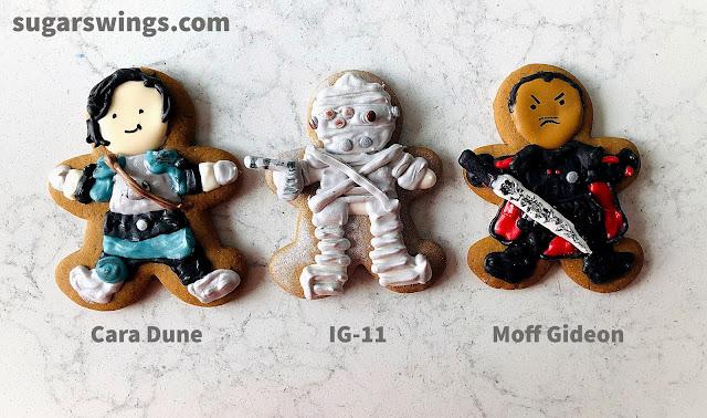 cara dune IG-11 moff gideon cookie