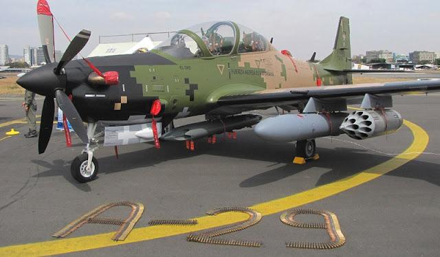 Resultado de imagen para A-29 Super Tucano + weapons
