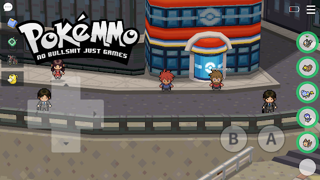 Review Singkat PokeMMO - Main Game Pokemon Generasi 1 sampai 5 Secara Online