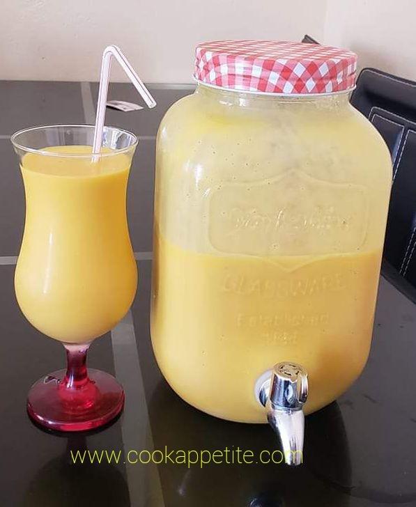 Quick Mango Smoothie Recipe