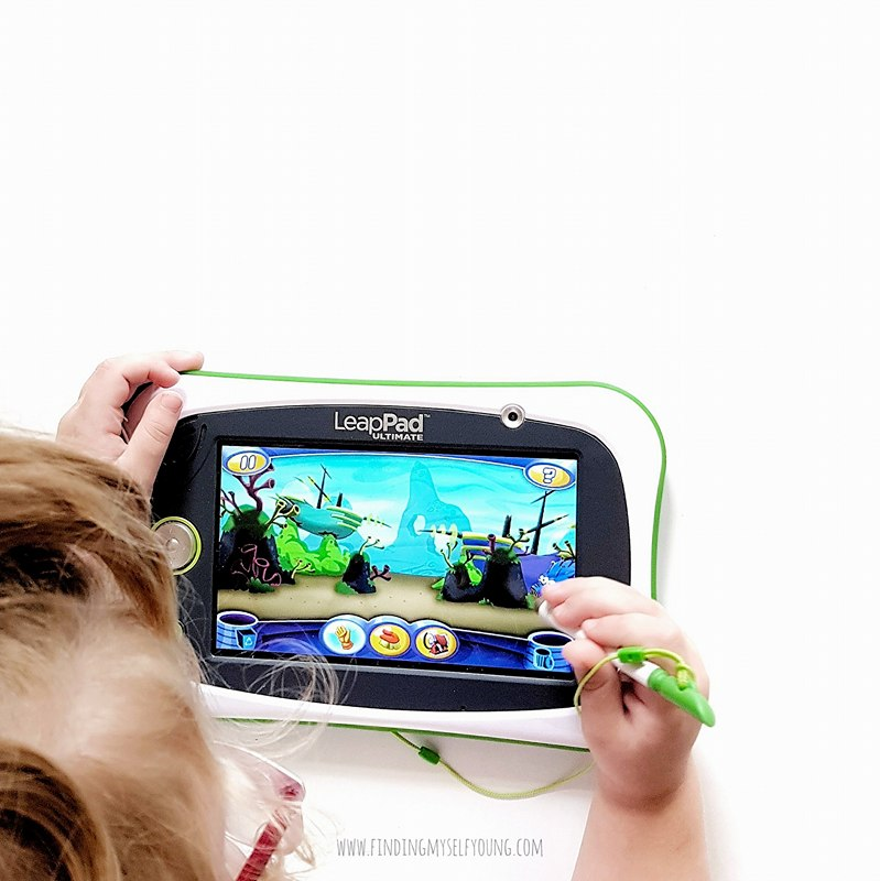 Finding Myself Young: LeapPad Ultimate learning tablet for