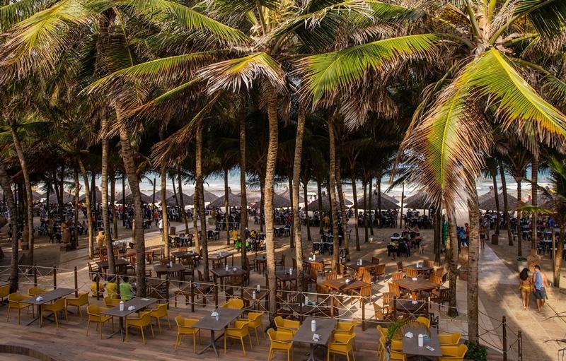 Melhor barraca de Praia de Fortaleza