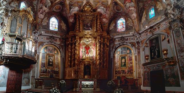 Altar Mayor de la Iglesia de San Nicolás, la Capilla Sixtina valenciana