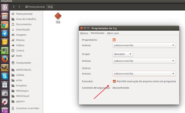 ICQ no Linux