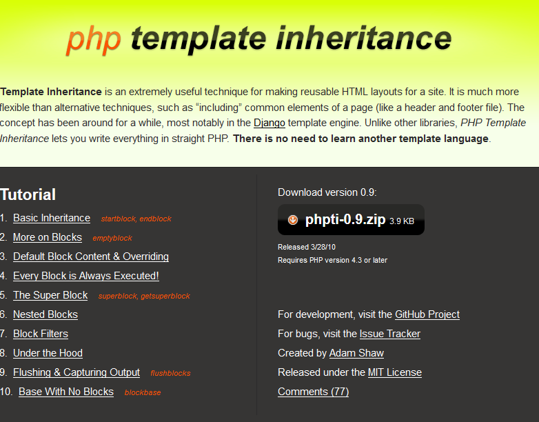 php template inheritance php template inheritance two sigma technologies