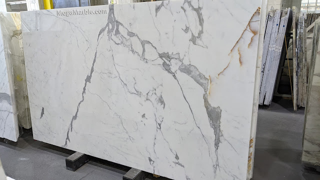 Statuario White Marble Slab Polished Slabs