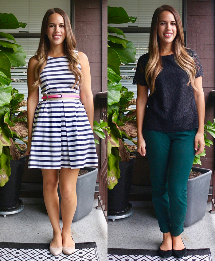 Jules in Flats - September Work Outfits
