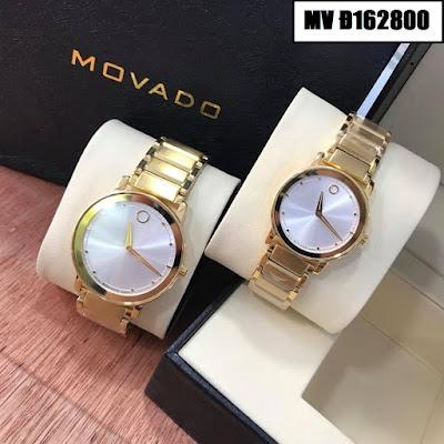 Đồng hồ đeo tay cặp đôi Movado Đ162800