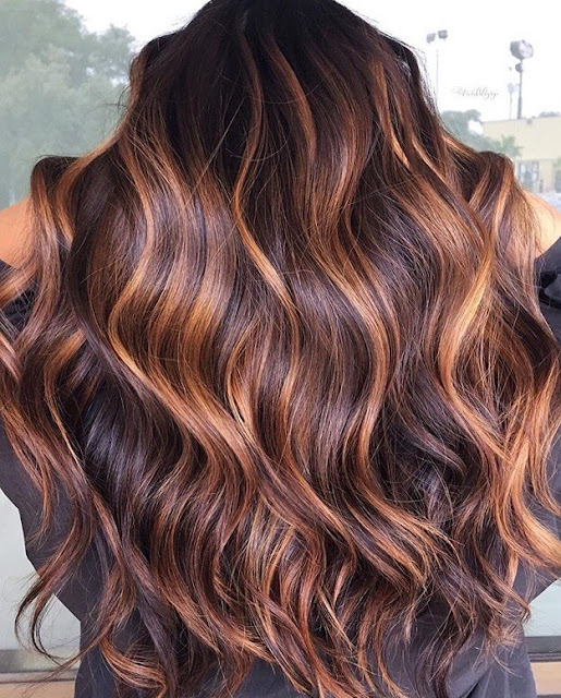 Brunette hair color inspiration