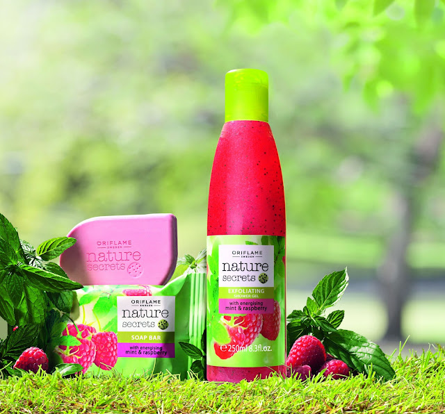 New products for summer: Oriflame Nature Secrets Range..