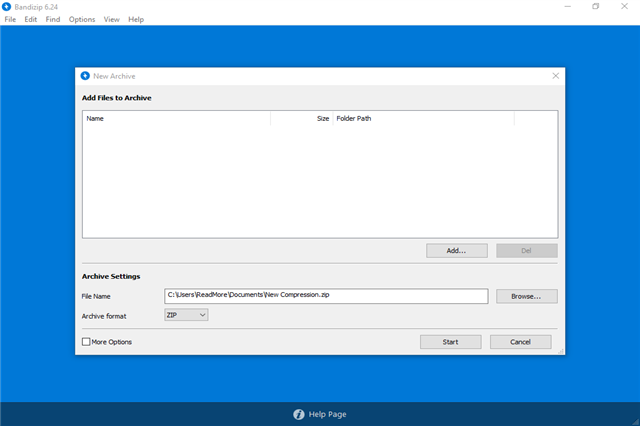 تحميل برنامج ضغط الملفات والأرشفة بانديزيب Bandizip للويندوز