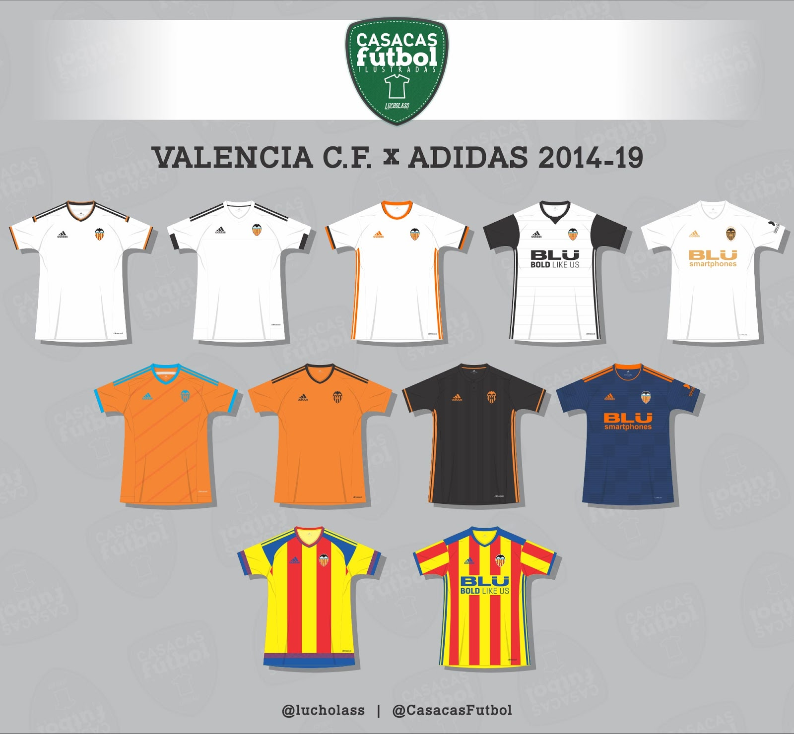 reputable site f1984 1c540 Puma From Next Season - Here Are All Adidas Valencia Kits In ...