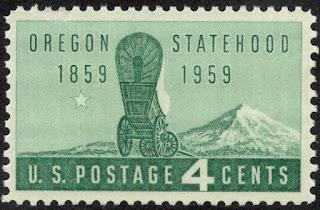 Oregon Statehood US Single