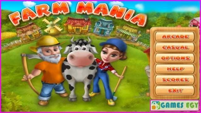 لعبة المزرعة Farm Mania