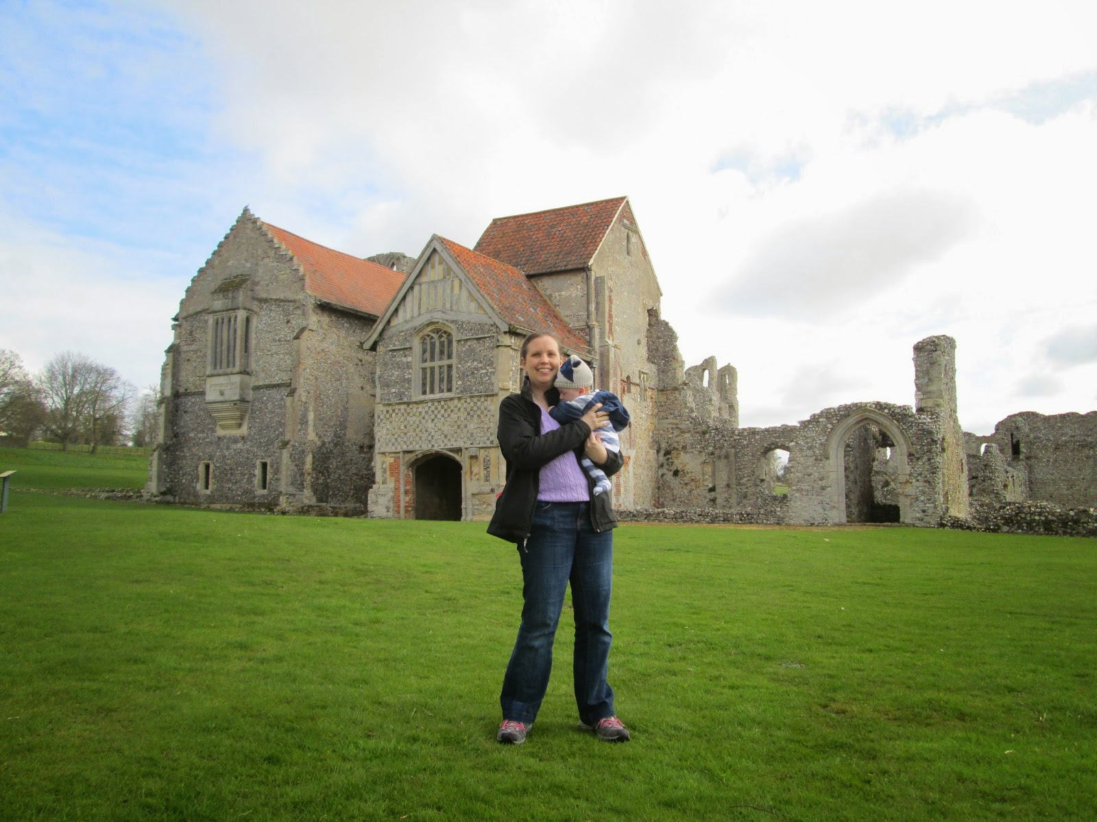 Castle Acre Priory Norfolk