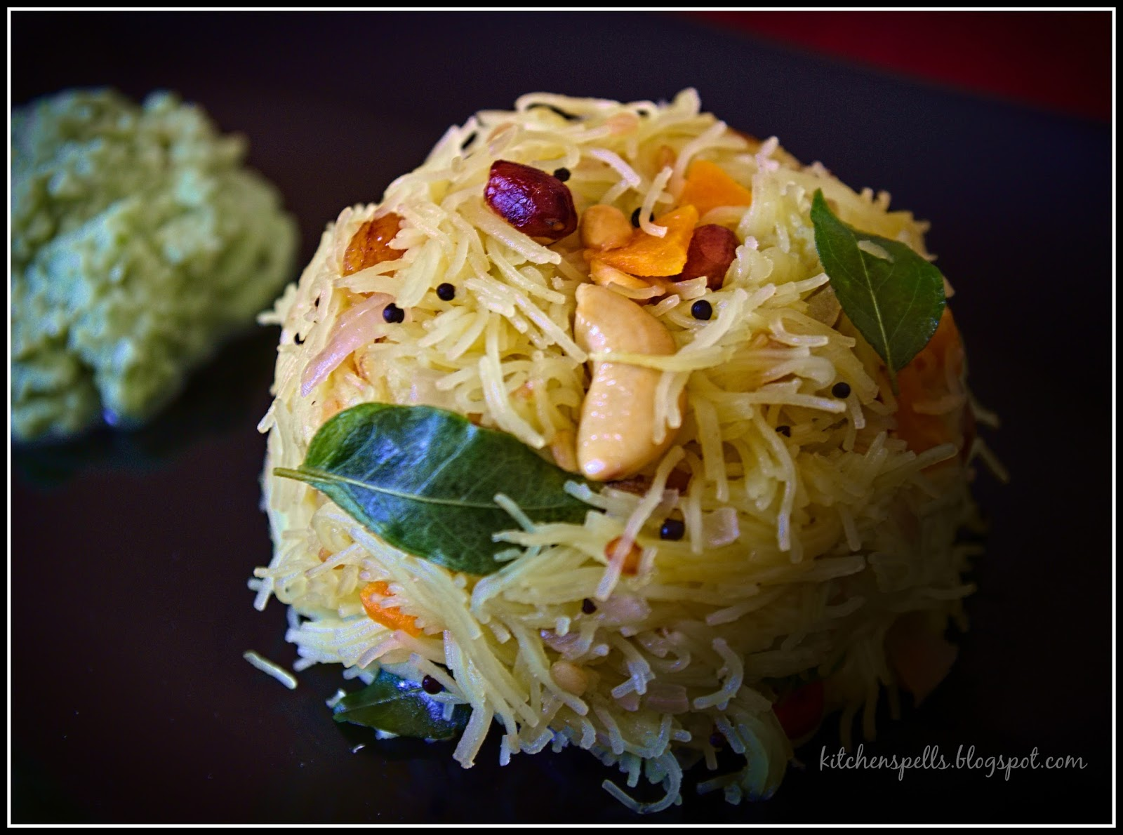 how to make semiya upma