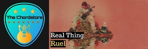 Ruel - REAL THING Guitar Chords (Free Time)