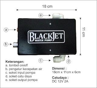 spesifikasi pompa blackjet