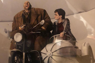 On set of Harry Potter and the Deathly Hallows part 1
