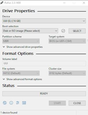 Cara Membuat Bootable Kali Linux - Menjalankan Rufus