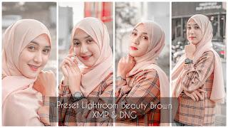 Preset Lightroom Beauty Brown Terbaru DNG & XMP