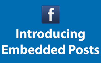 Embedded Posts en Facebook