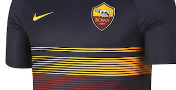 2d55ca6f9 Unique Nike AS Roma 18-19 Pre-Match Jersey Released