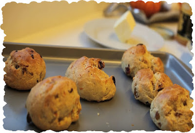 Quick and Easy Orange & Raisin Scones