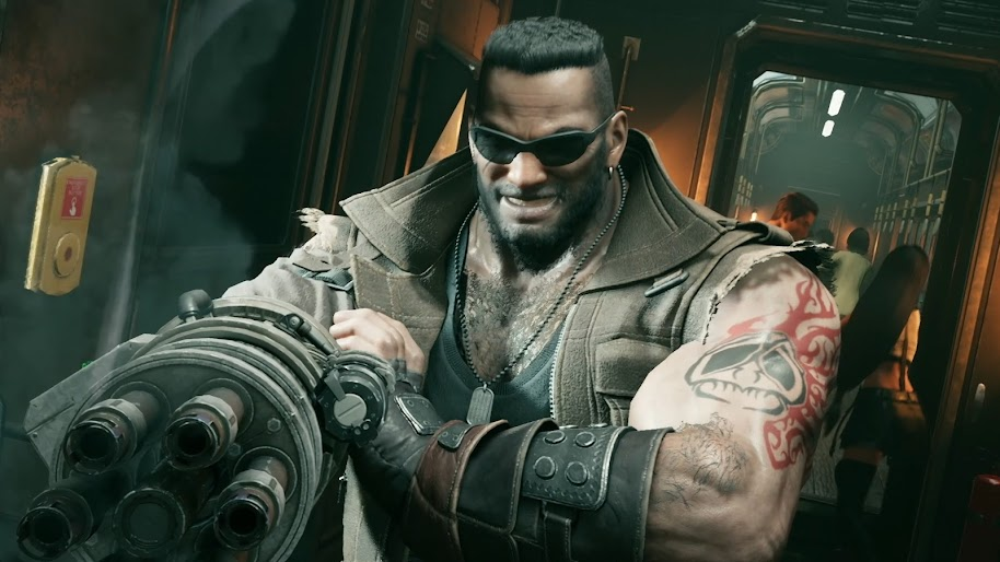 Barret Wallace Final Fantasy 7 Remake 4k Wallpaper 3