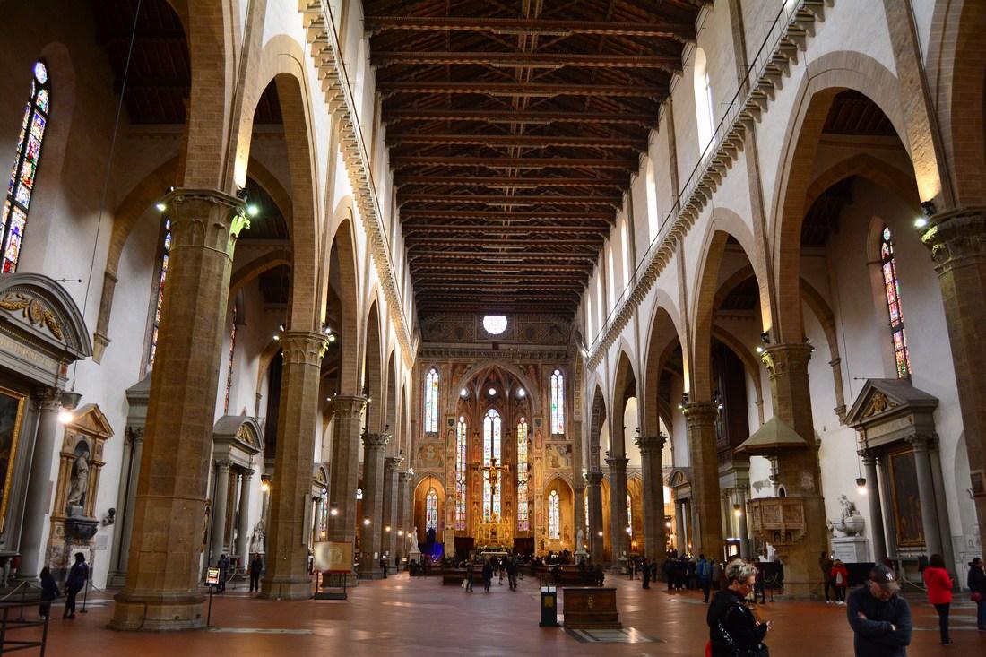 Nef principale de Santa-Croce
