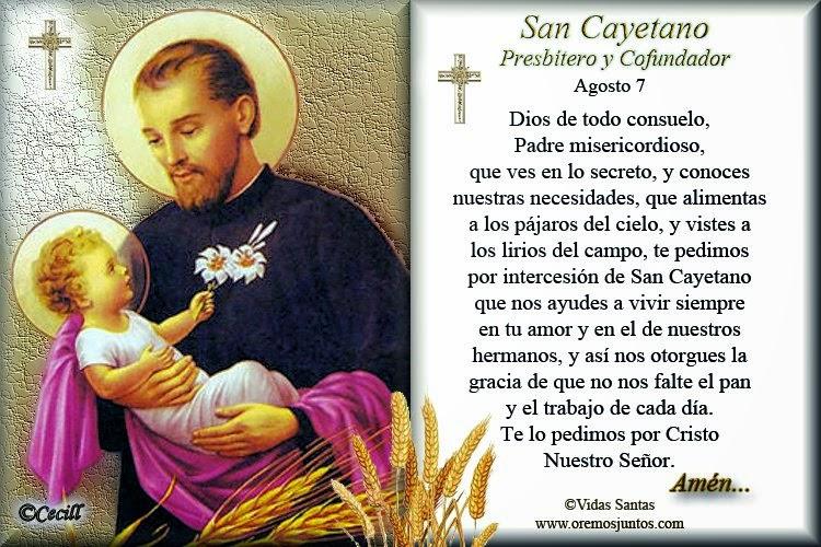 Amor Eterno San Cayetano Presbítero Y Fundador 1480