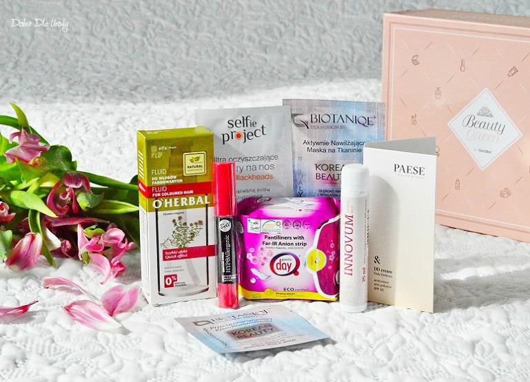 Beauty Queen by ShinyBox prezentacja marcowego pudełka