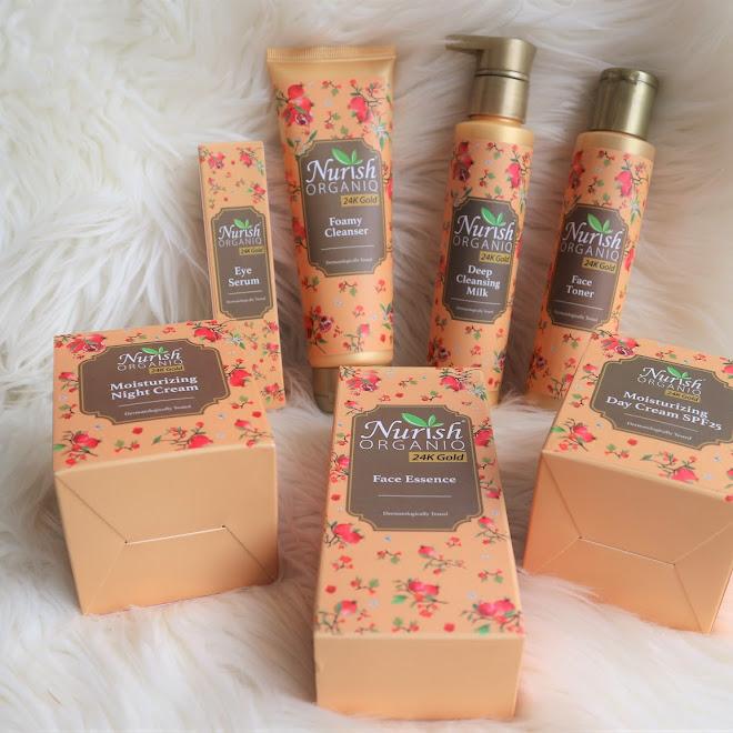 [Beauty] Tetap Muda Dengan Nurish Skin 24K Gold