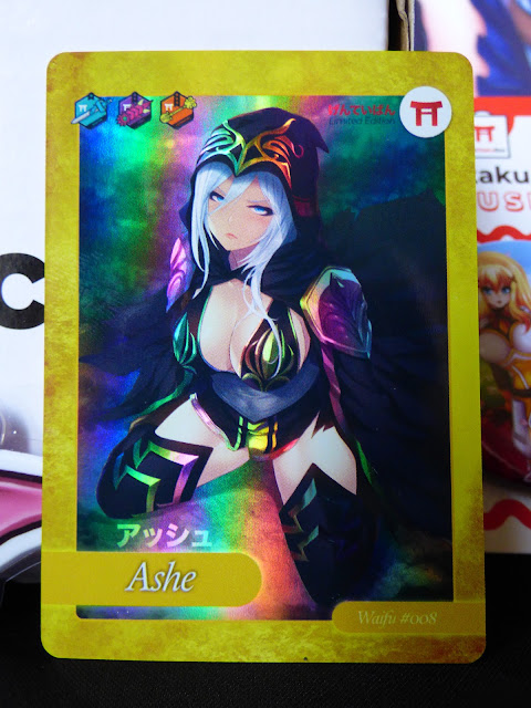 League of Legends - Ashe Waifu Card