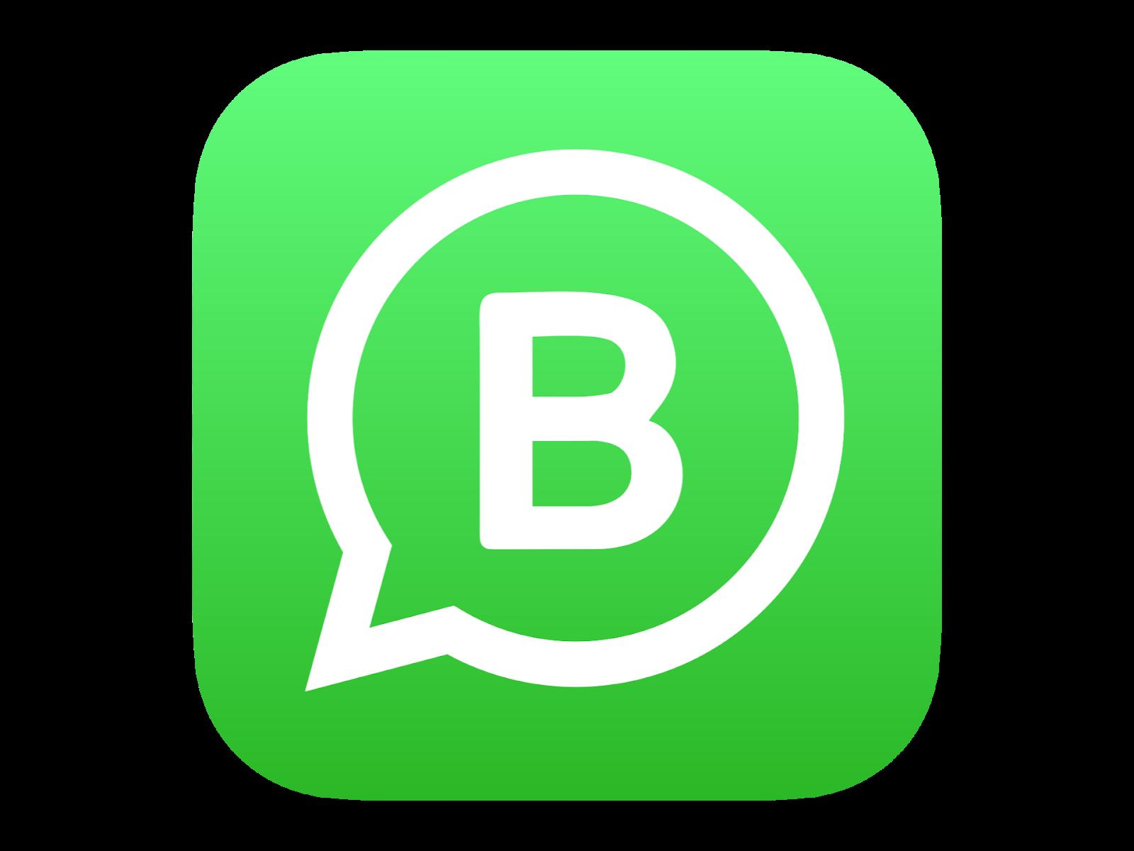 Logo Whatsapp Business Format PNG